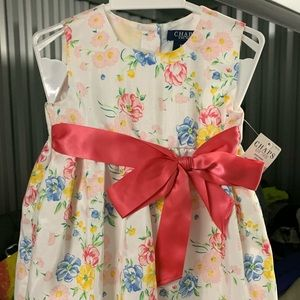 Girl's size 18 month spring dress, NWT